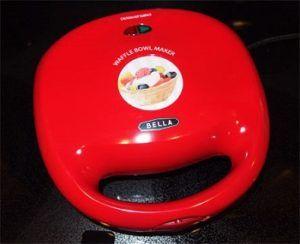 Bella Waffle Bowl Maker review