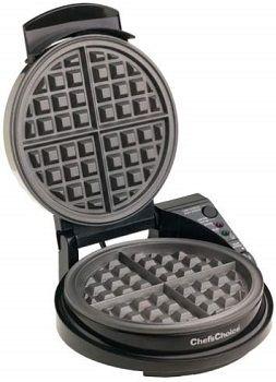 Chef's Choice 840B WafflePro TasteTexture Select Belgian Waffle Maker
