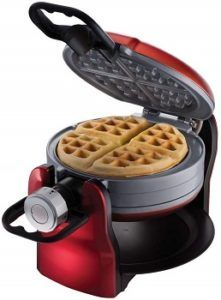 Oster DuraCeramic Titanium Infused Double Flip Waffle Maker review