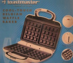 Toastmaster Cool-Touch Belgian Waffle Baker