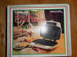 Toastmaster Pizzelle Maker