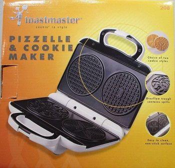 Toastmaster Pizzelle Maker Model 208
