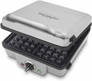 Cuisinart Square Waffle Maker Dual Plates review