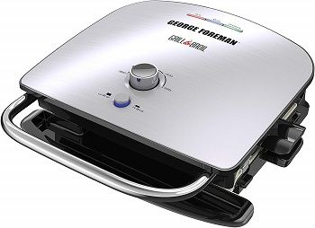 George Foreman Grill and Broil Waffle Maker
