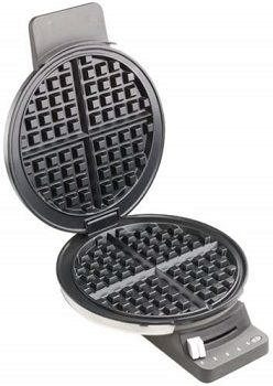 Large Classic Round Waffle Maker review