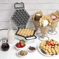 Best 5 Ice Cream Waffle Cone Makers & Irons In 2021 Reviews
