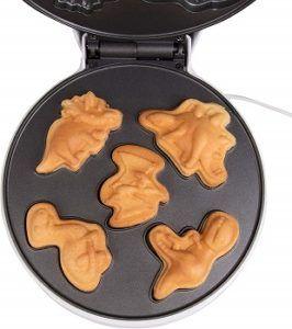 CucinaPro Dinosaur Mini Waffle Maker review