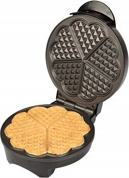 CucinaPro Heart Shaped Waffle Maker review