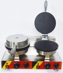 Intbuying Electric Dual Cone Waffle Baker review