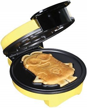 Uncanny Brands Minions Waffle Maker review