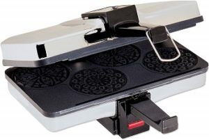 CucinaPro Mini Italian Pizzelle Waffle Maker review