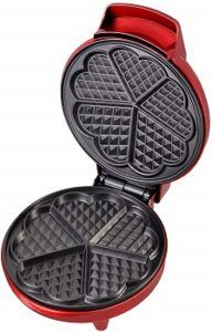Kalorik Kitchen Things Red Waffle Maker review