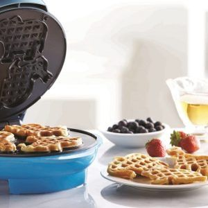 blue-waffle-maker
