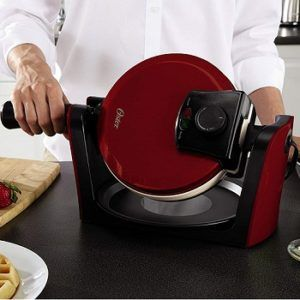 red-waffle-maker